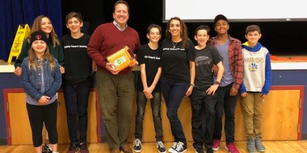 AED Donated At Ocean Shores Elementary