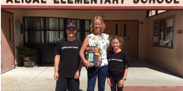 AED Donated to Alisal Elementary School
