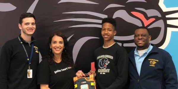 AED Donated to Oakland Tech