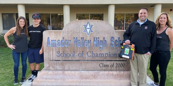 AED Donated to Amador Valley High School